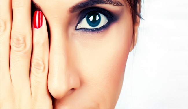 The scanning way to relax eyes