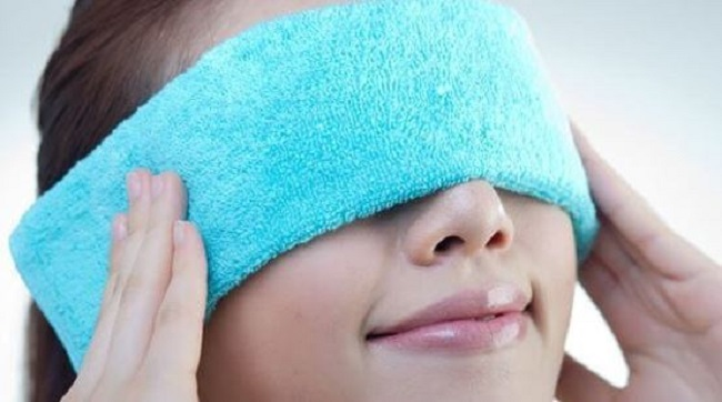 The spa way to relax eyes